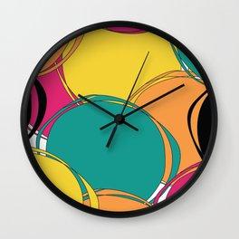 Abstract Circls Wall Clock