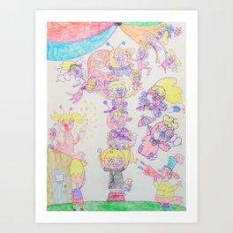 Kelly Bruneau #19 Art Print