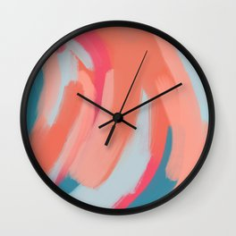 Colouring In Wall Clock