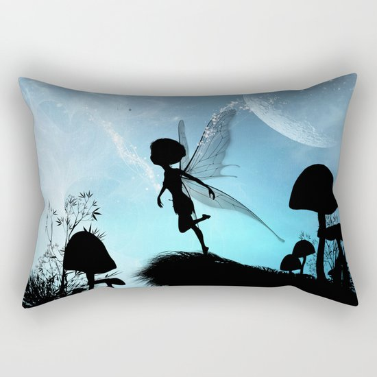 Fairy silhouette Rectangular Pillow