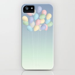 Balloons bouquet iPhone Case