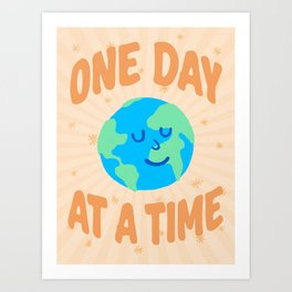 """One Day at a Time"" inspired by Ariane Goldman, Hatch Art Print"
