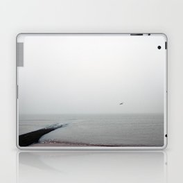 Alone in Mist Laptop & iPad Skin