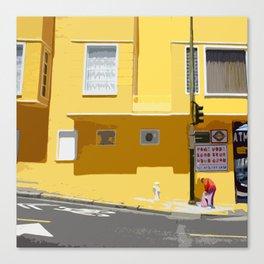 Yellow, San Francisco  Canvas Print