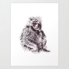 Simio Art Print
