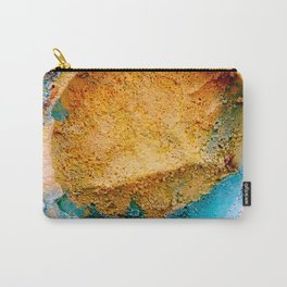 Abstract Painted Stone Carry-All Pouch