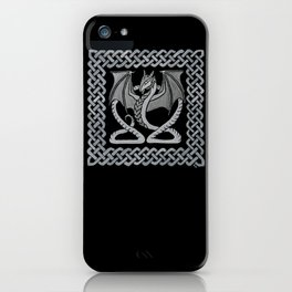White Dragon iPhone Case