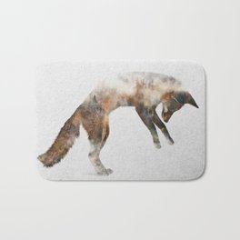 Jumping Fox Bath Mat