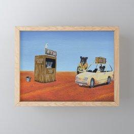 The Outback ATM Framed Mini Art Print