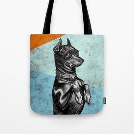 Sitting dog Tote Bag