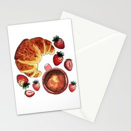 Breakfast, maybe! Stationery Cards
