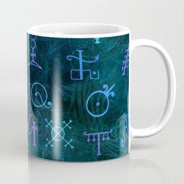 Alchemy Symbols Pattern Coffee Mug