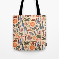 tropical Tote Bags featuring Tropical by Vladimir Stankovic