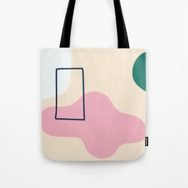 silence is deadly - on champagne backgroung Tote Bag