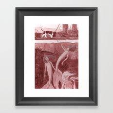 Come a little Closer Framed Art Print