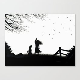 In the Wind Canvas Print