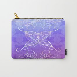 Butterfly Ribbon Carry-All Pouch