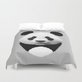 Cute Panda Duvet Cover