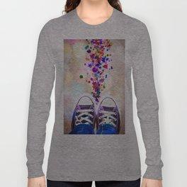 Sequin Trail Long Sleeve T-shirt
