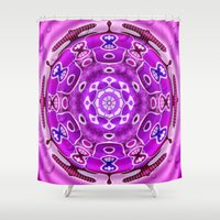 carousel Shower Curtains featuring Carousel by Elena Indolfi