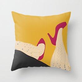 Dot Legs Throw Pillow