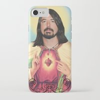 dave grohl iPhone & iPod Cases featuring Dave Grohl by Michelle Wenz