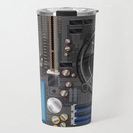 Computer Motherboard Travel Mug