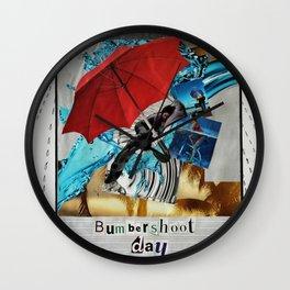 Bumbershoot Day Wall Clock