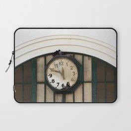 Vintage Station Clock with Birds Laptop Sleeve