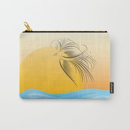 Flying bird - calligraphy Carry-All Pouch