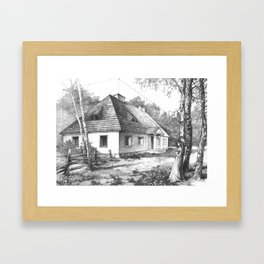 Traditional Polish Mansion Framed Art Print