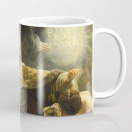 "Rembrandt Harmenszoon van Rijn, ""Belshassar's Feast"", 1636-8 Coffee Mug"