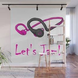 Let's Jam!! Wall Mural