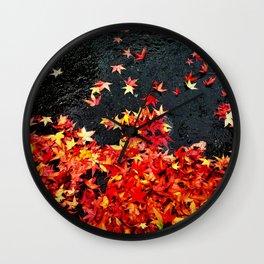 Tacoma Autumn Wall Clock