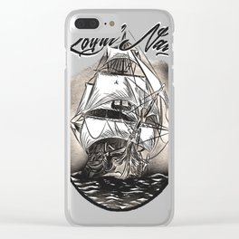 Royal Navy Clear iPhone Case