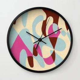 Neopolitan and Ice Wall Clock
