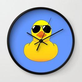 Cool Rubber Duck Wall Clock