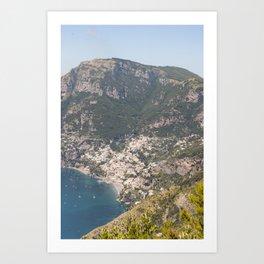 Positano, Amalfi Coast IV Art Print