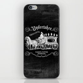 Gothic Undertaker iPhone Skin