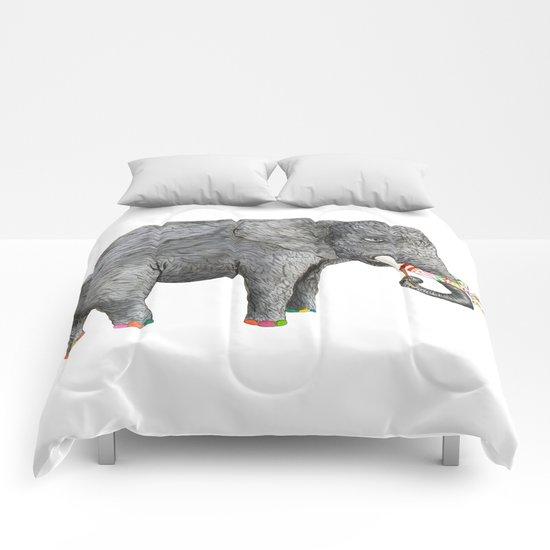 Artist Elephant Comforters