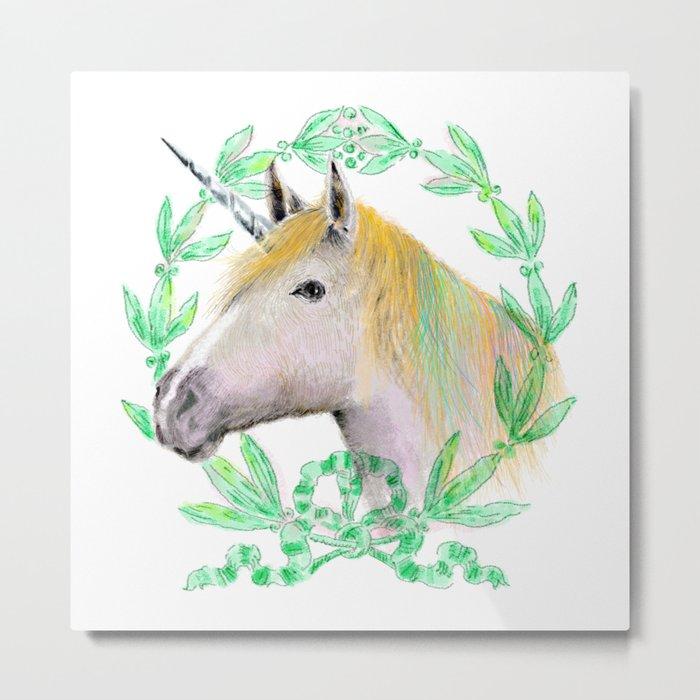 Unicorn IV Metal Print