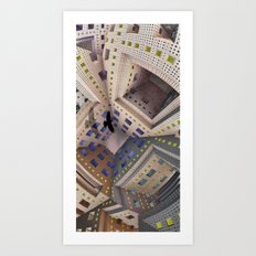 City Cage Art Print