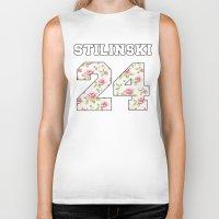 stiles stilinski Biker Tanks featuring Stilinski 24 by Indy