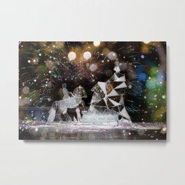 Christmas tale Metal Print