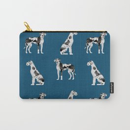 Great Dane harlequin coat dog breed gifts pet patterns for pure breed lovers Carry-All Pouch