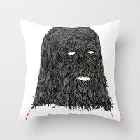 tim shumate Throw Pillows featuring Tim by David Penela