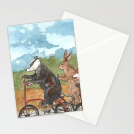 Bike Race Stationery Cards