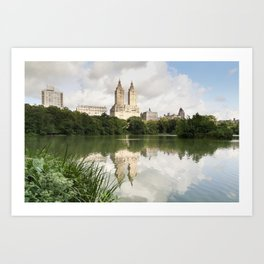 Central Park Reflections Art Print