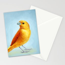Wild Canary Stationery Cards