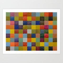 Color Collage 108 Art Print